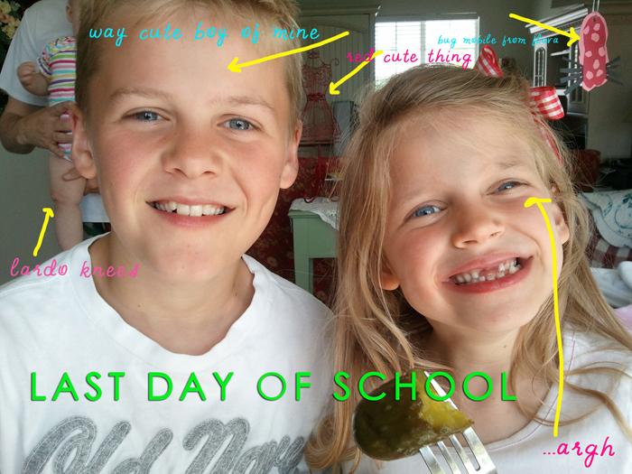 Last day of school web